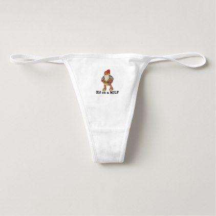 Milf in santa panties