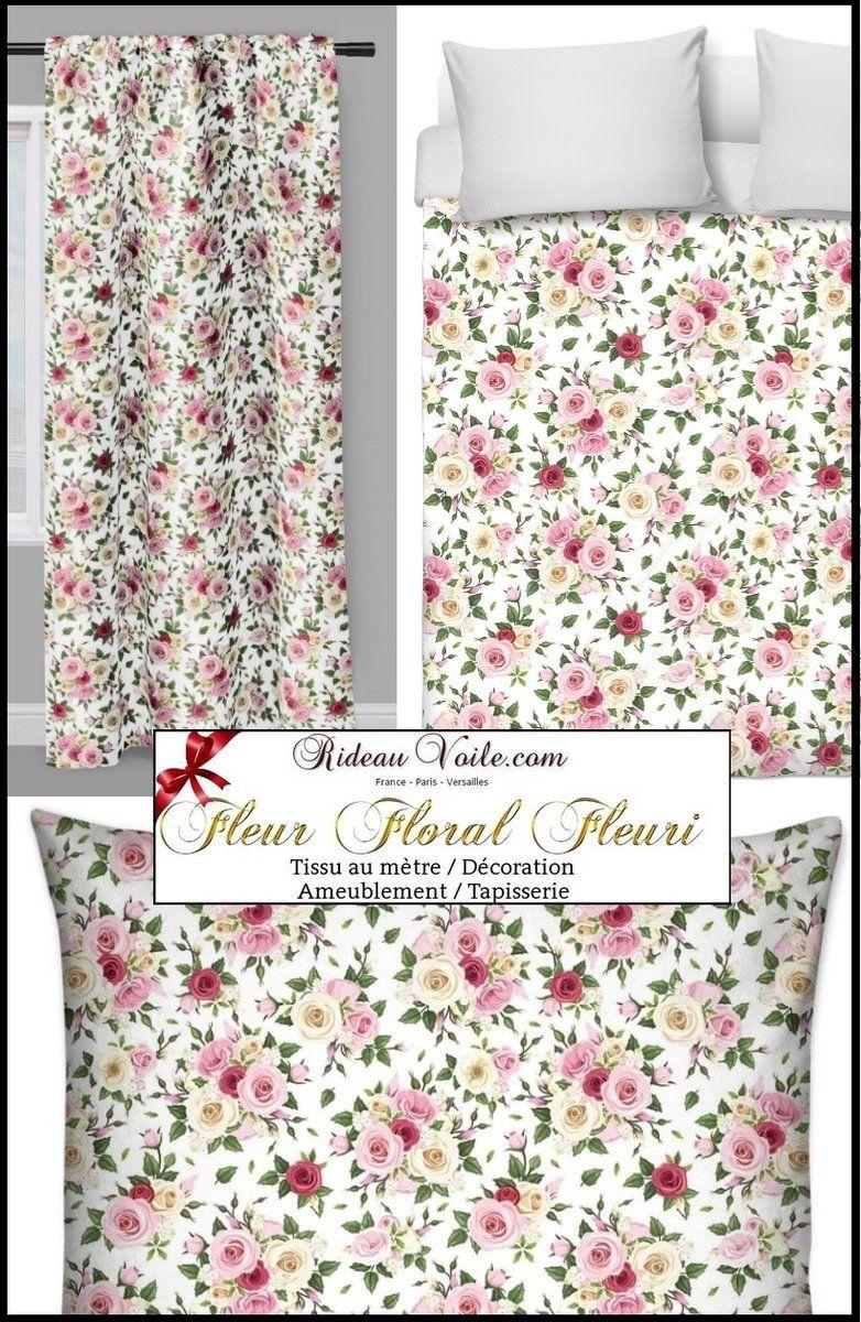 boutique tissu ameublement floral au