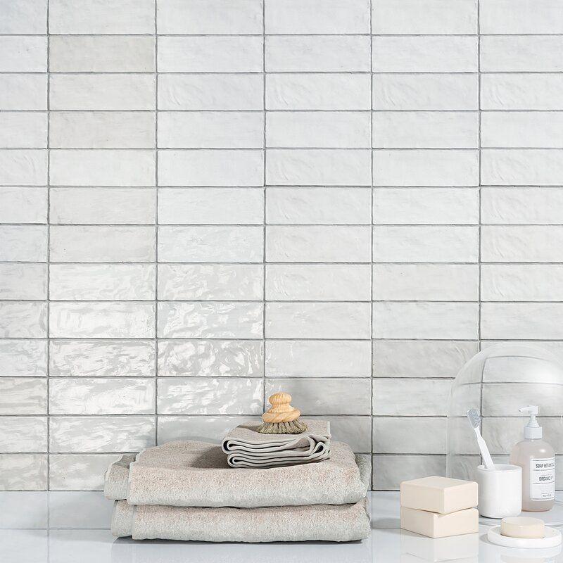 kingston 3 x 8 ceramic subway tile in