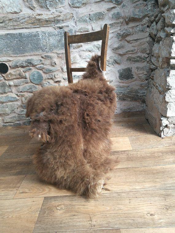 Soay Sheepskin Rug Rare Breed Genuine