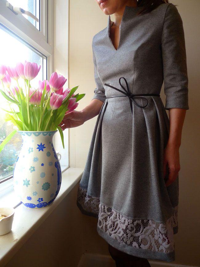 garden party dress :: free pattern -   25 diy dress party ideas
