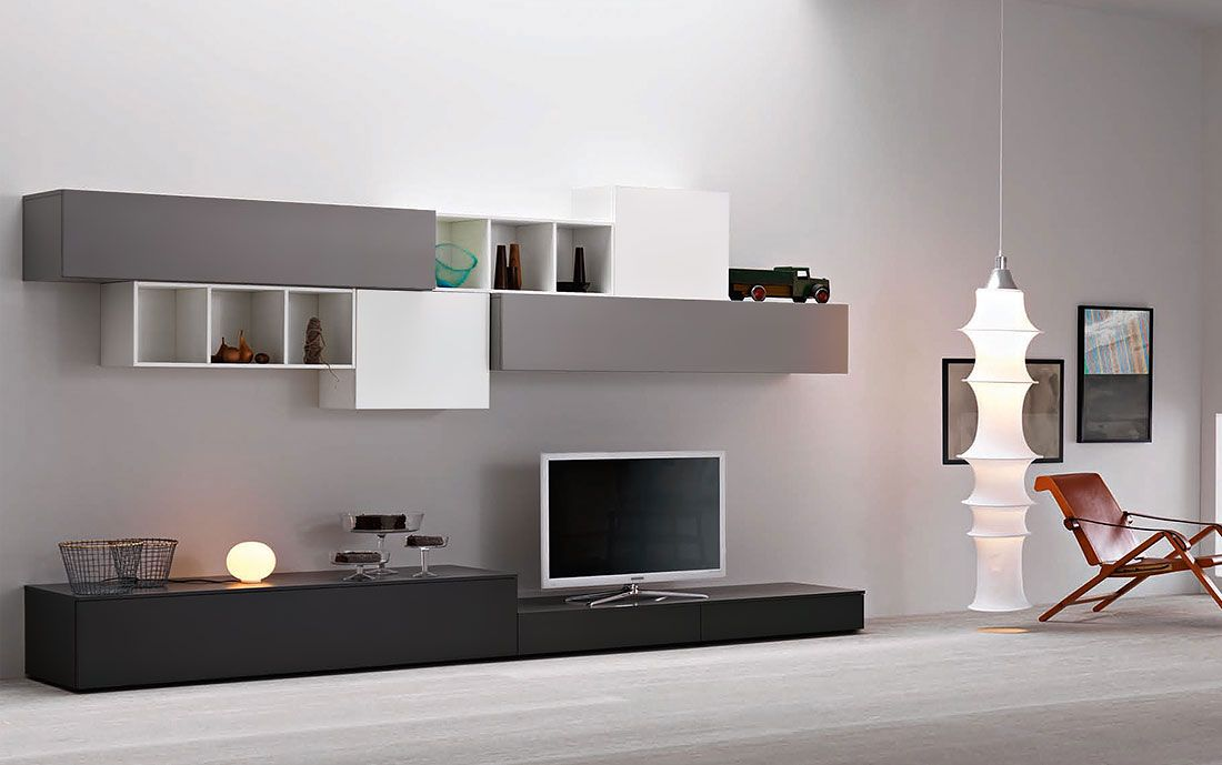 Wohnwand Lampo L2 36 Mobel Wohnzimmermobel Mobel Fur