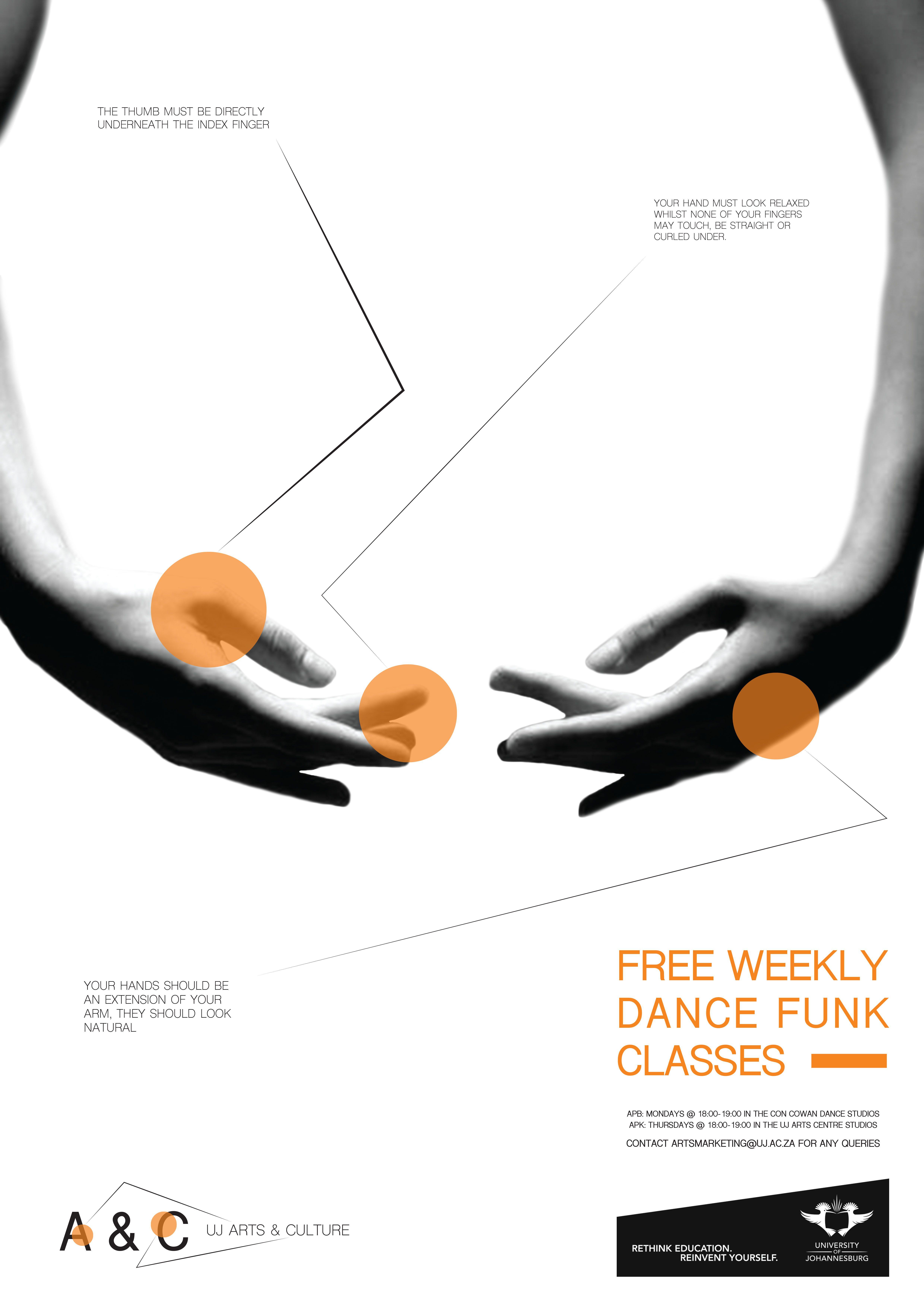 Poster design johannesburg - 2016 University Of Johannesburg Arts Culture Program Awareness Poster