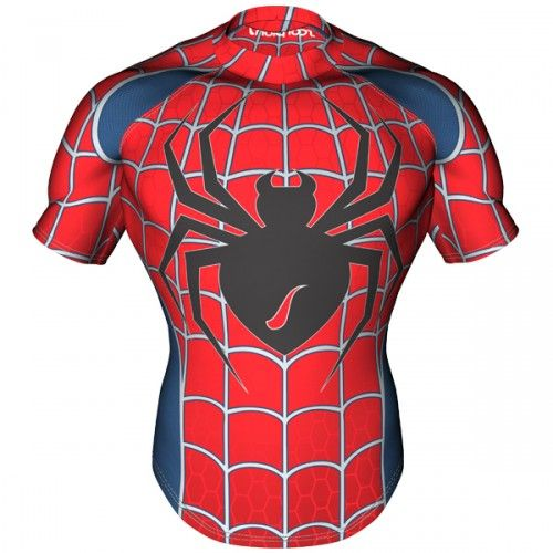 Spiderman Rugby Shirt Front 500x500 Jpg