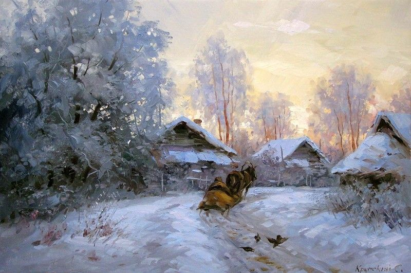 Сергей Крупский, пейзажи