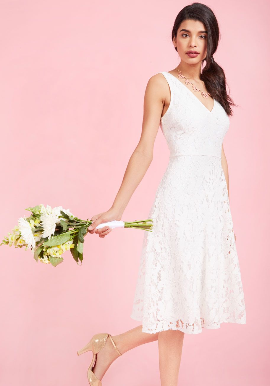 Chi Chi London Sophisticated Ceremony Maxi Dress in White | ModCloth ...