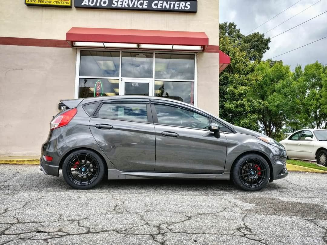New Wheels Love How Much Lighter They Are Assetto Gara 16x7 Firehawk Indy 500 205 45 16 Fiestast Ford Fiesta St Car Ford Ford Fiesta