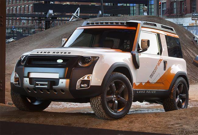 Novo Land Rover Defender Estreia Em 2018 Com Cinco Opcoes De