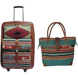 Amerilether Odyssey 2-piece Carry-on Luggage Set by Amerileather ...