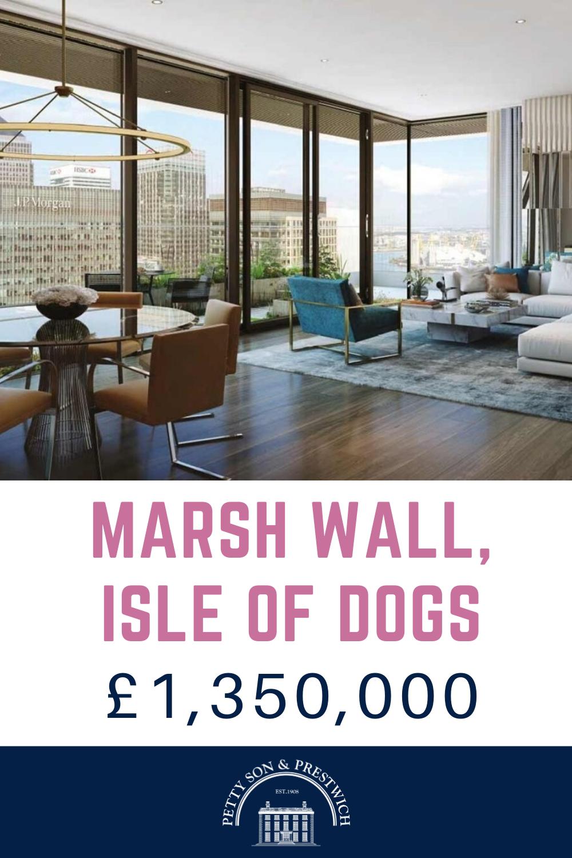 NEW TO MARKET MARSH WALL, ISLEOFDOGS 2 bedroom, 2