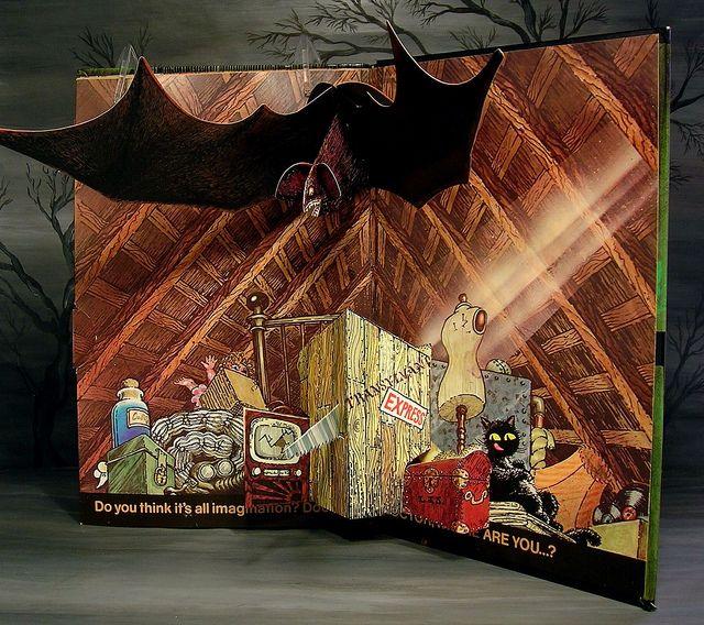Jan Pienkowski Haunted House Children's Pop-Up Book pg 6 ...