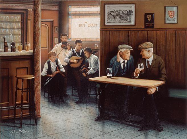 The Music Pub by John P. O'Brien