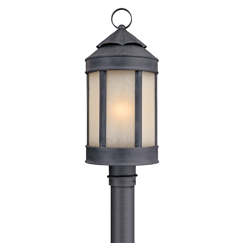 Andersons Forge Post Lantern Large By Troy Lighting In 2020 Lantern Post Post Lights Troy Lighting