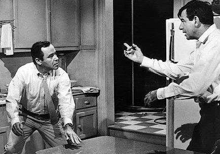 Walter Matthau & Jack Lemmon (The Odd Couple, 1968