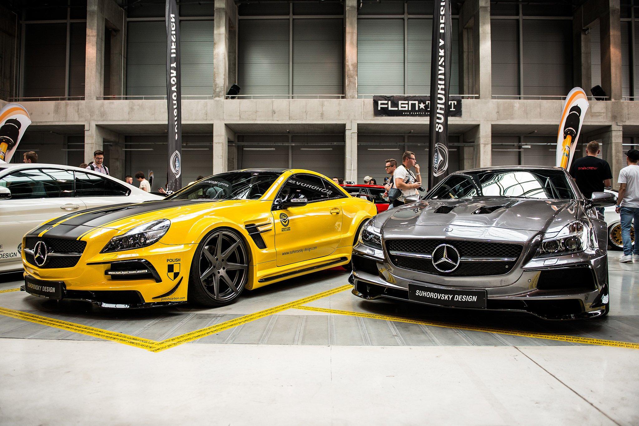 Mercedes benz sl class r230 sr66 1 wide body kit fits 500 600 sl55 sl63 amg