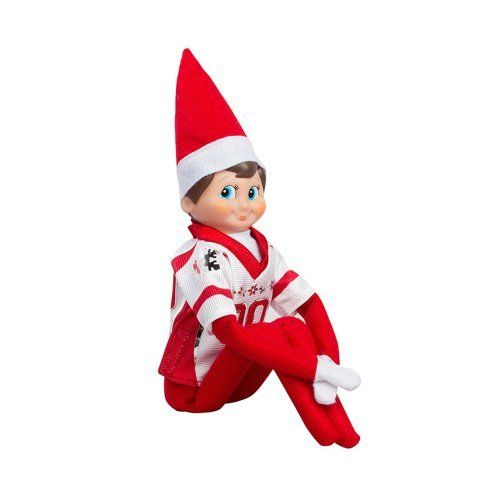 This The Elf on the Shelf: A Christmas Tradition set includes Blue Eyed North Pole Elf Boy and Jersey. The Elf on the Shelf: A Christmas Tradition Blue Eyed North Pole Elf Boy With Jersey  Price : $32.95 #elfontheshelf http://www.thinkfasttoys.com/The-Elf-Shelf-Christmas-Tradition/dp/B00FBOVTL4