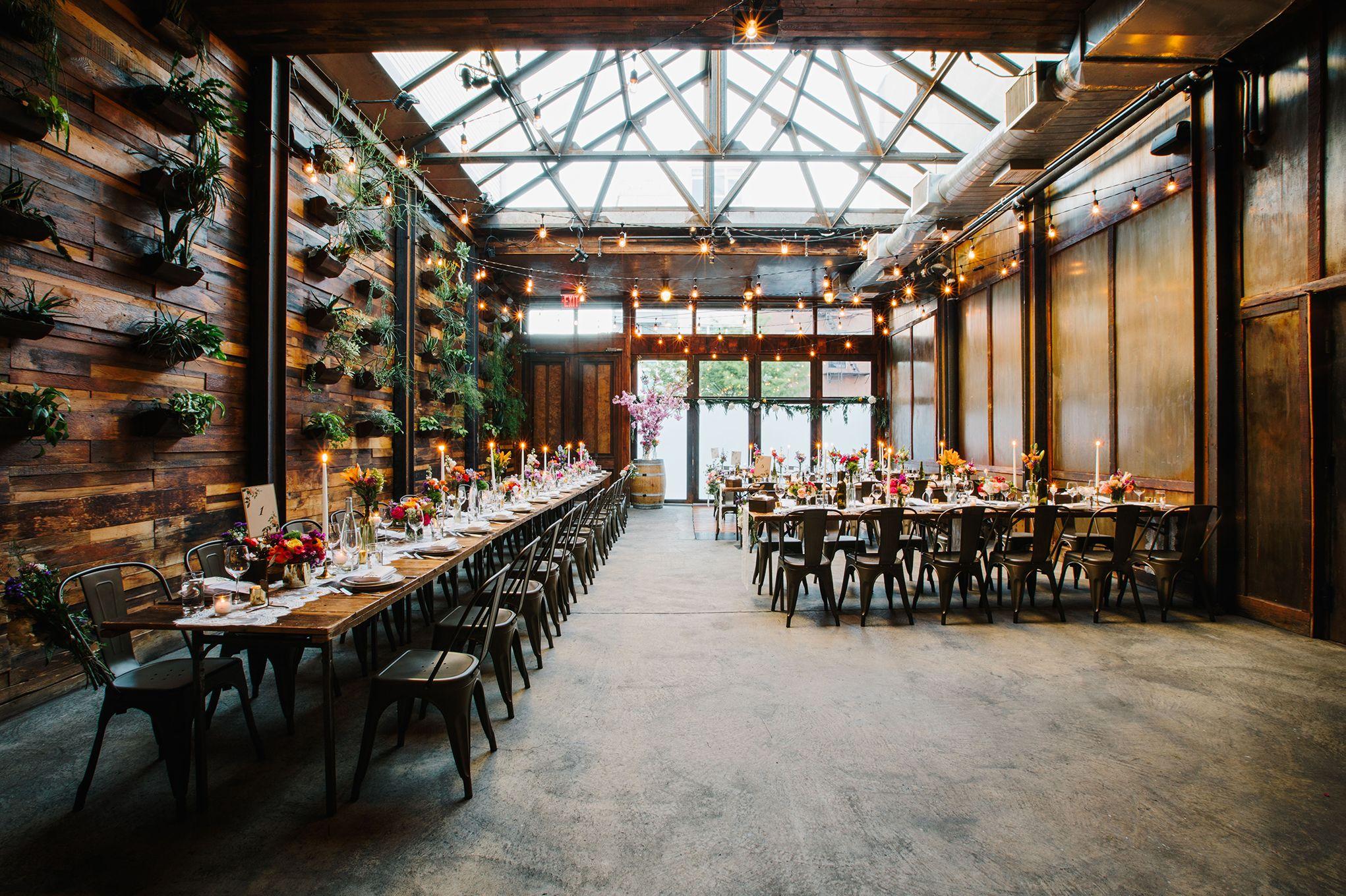 Modern City Winery Wedding in Brooklyn Beacon Lane