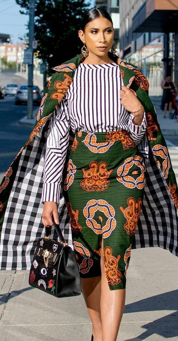 African office wear fashion #africanfashion