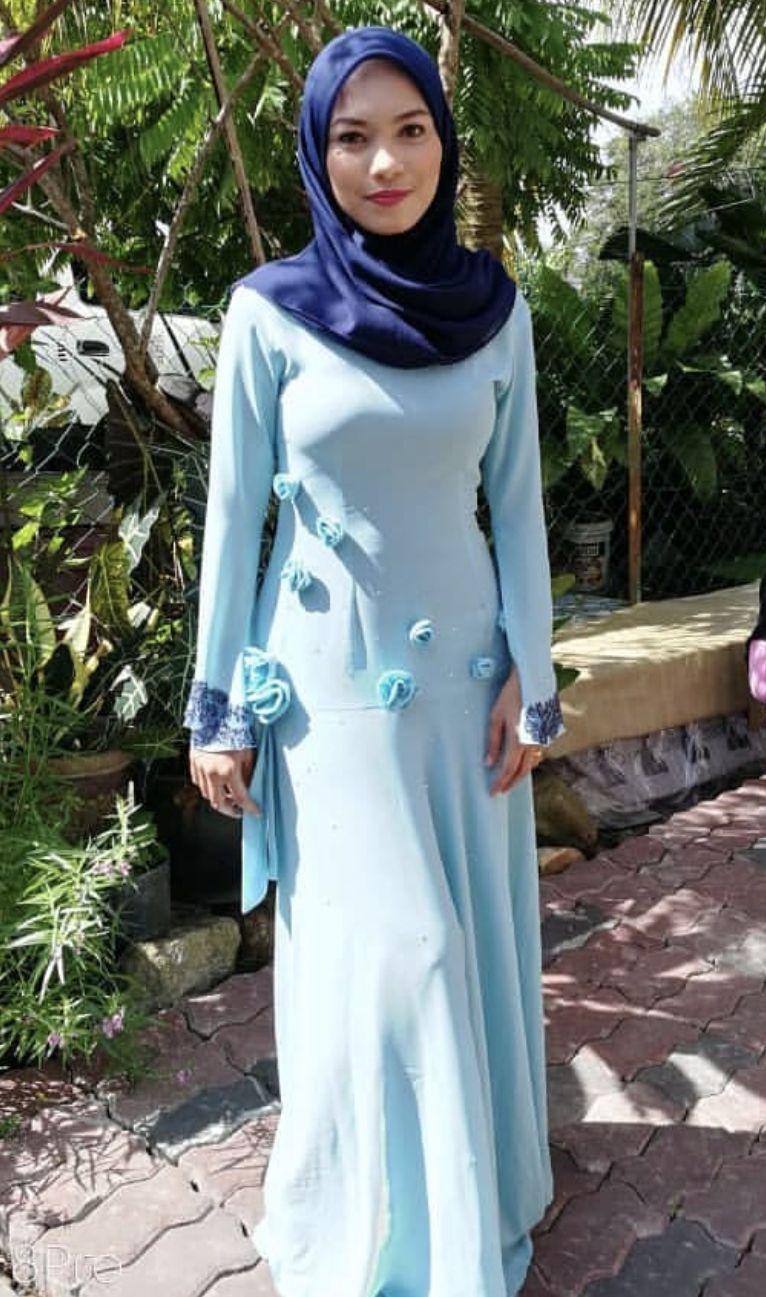 Pin by Zack on Baju kurung Beautiful hijab, Muslim