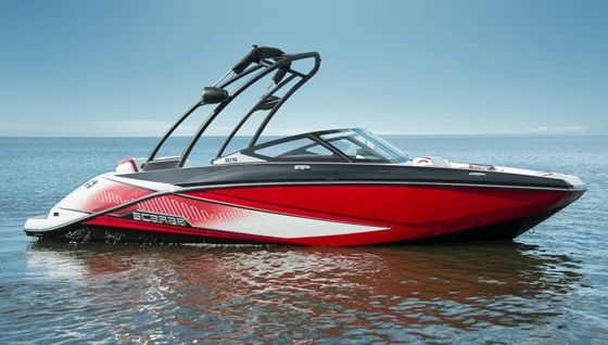 High Speed Action Is What The New Scarab Boats 215 Ho