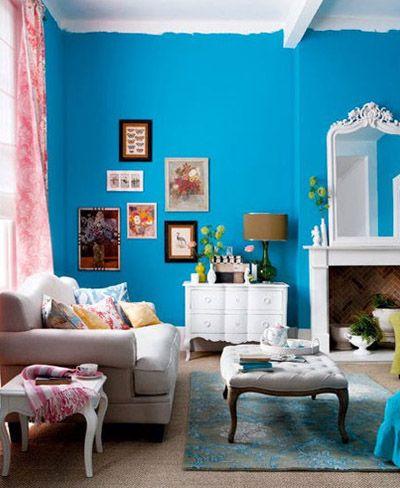Cinco buenos ejemplos de paredes pintadas a media altura ...