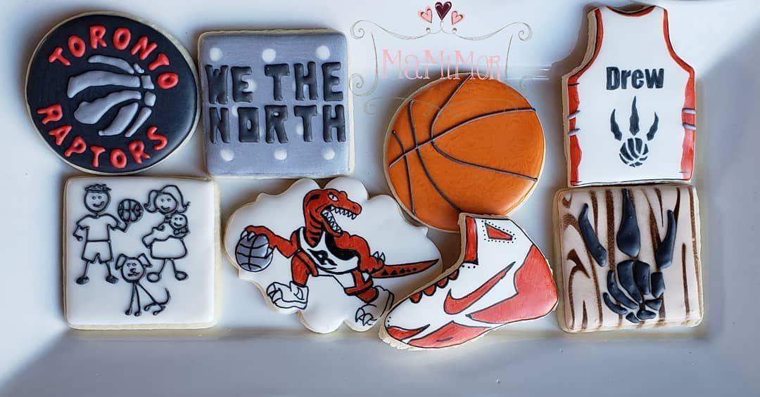 Cookies for a family full of Raptors fans!! Raptors