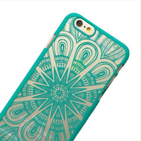Mint Starburst Phone Case