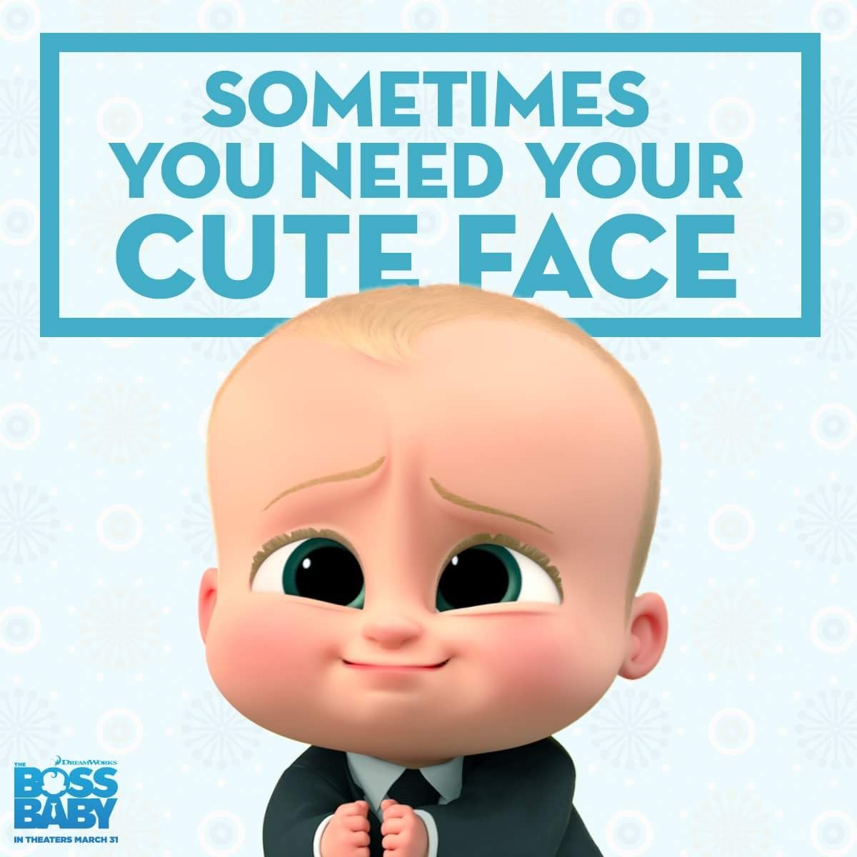 The Boss Baby Advance Screening Passes See It First Boss Baby Baby Posters Baby Movie