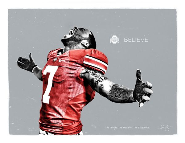 Ohio State Football Recruitment Fliers on Behance