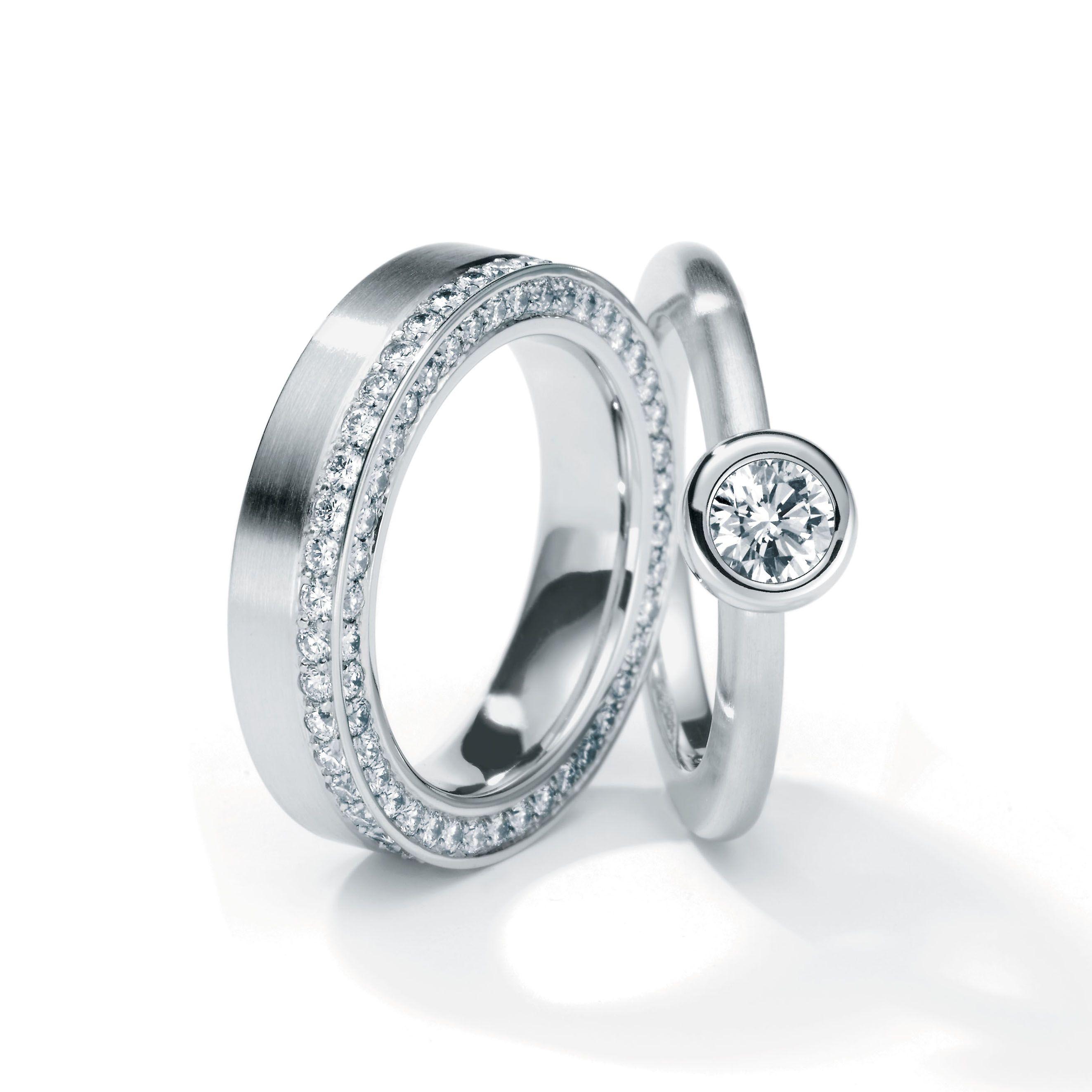 Ring aus platin und rhodium