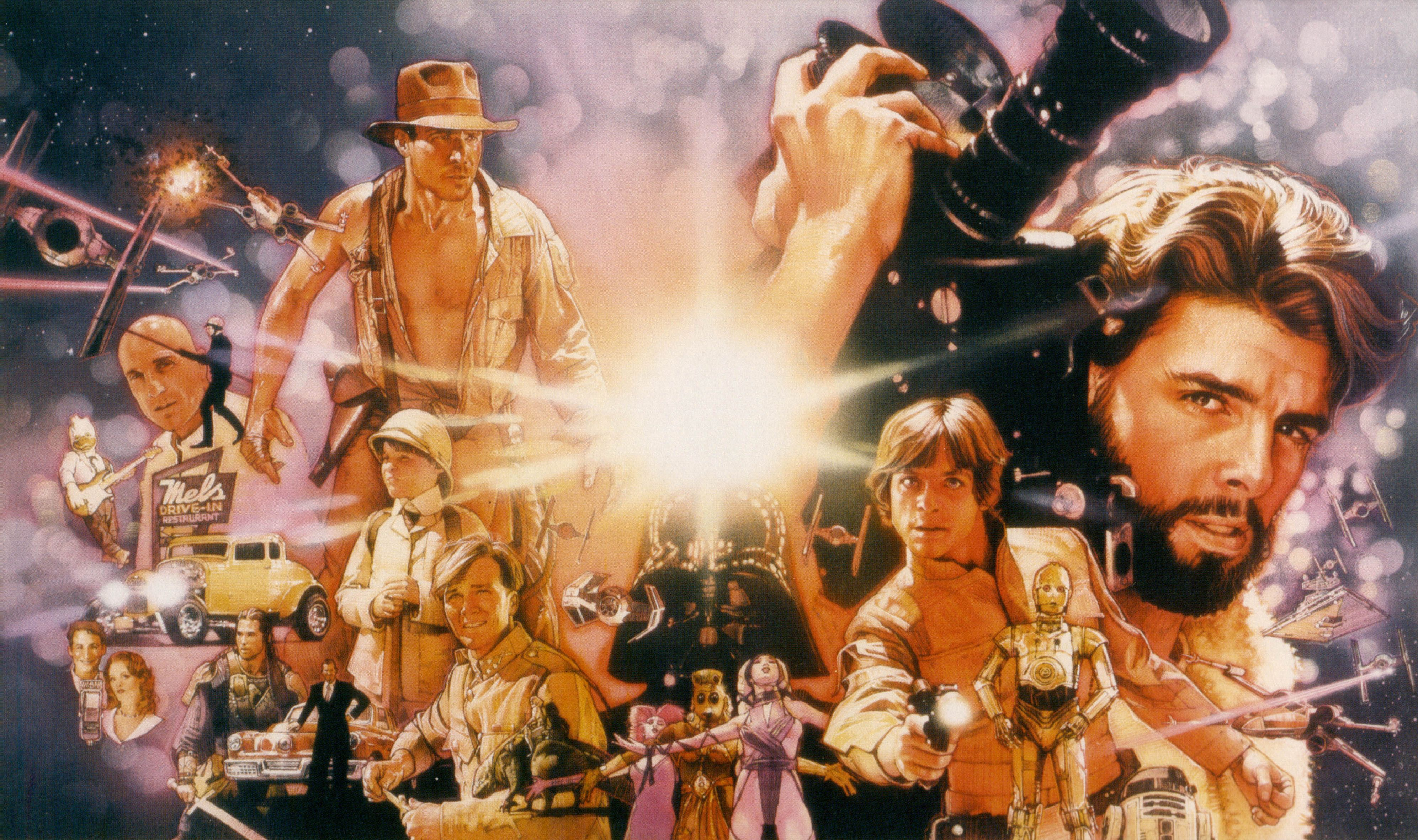 Explanation Of How Indiana Jones Star Wars And E T Share The Same Universe Geektyrant George Lucas Indiana Jones Lucas Movie