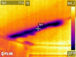 Roof Leak Detected After Hurricane Irma Home Inspection Ceiling Leak Home Inspector