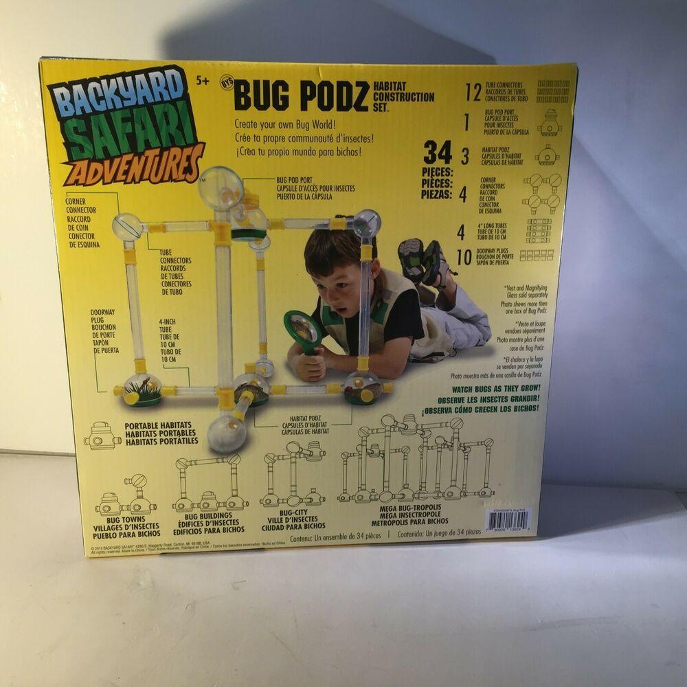 Backyard Safari Adventures Bug Podz Habitat Construction