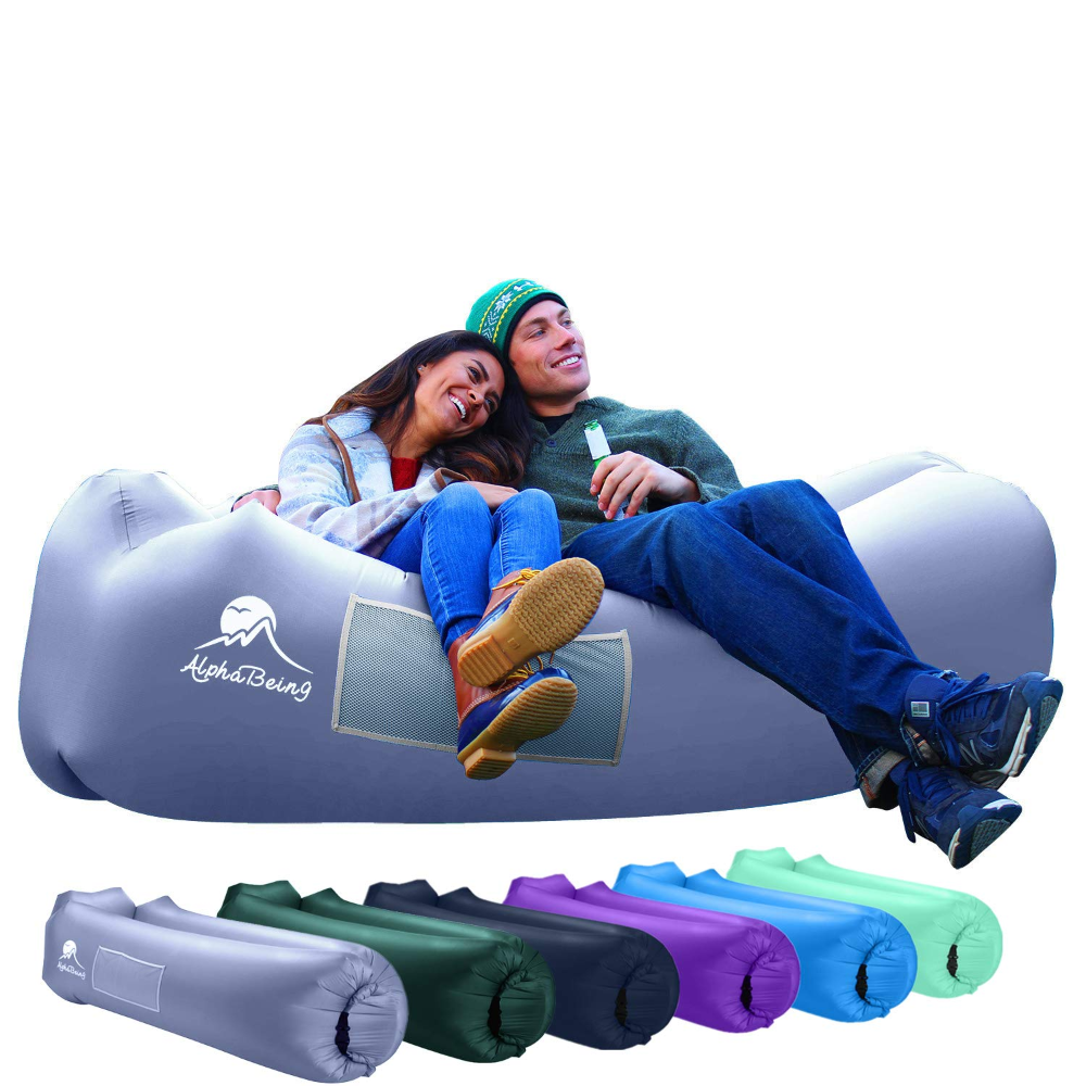 Alphabeing Inflatable Lounger Best Air Lounger For Travelling