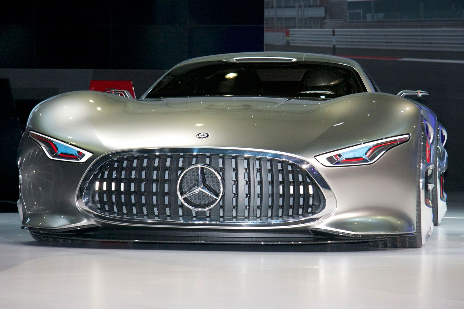 mercedes future cars | mercedes benz amg vision gran turismo front