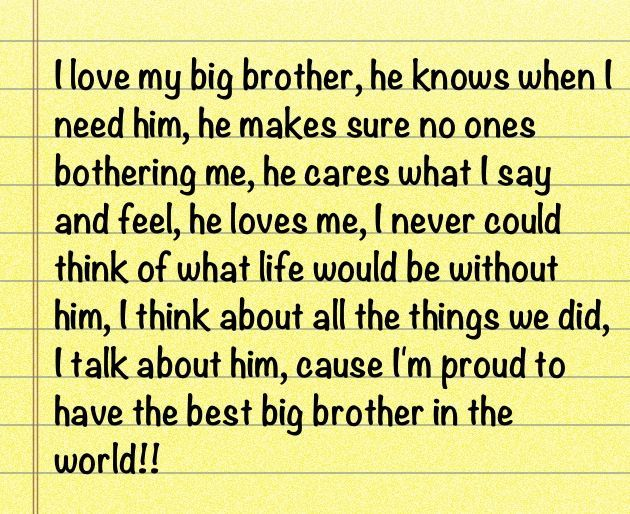 Quotes About Big Brothers Quotesgram By At Quotesgram Quotes Big