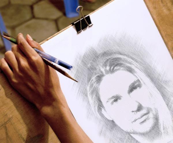 Svetlana Sirotkina (Russia) drew David