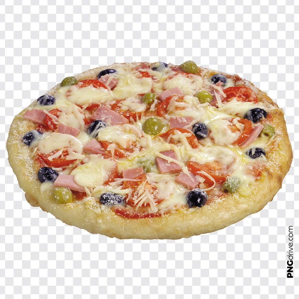 Pin By Png Drive On Pizza Png Images Hot Cheese Vegetable Pizza Food