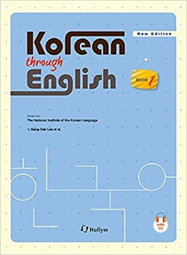 Korean through English Book 1 w/ CD (National Institute of the