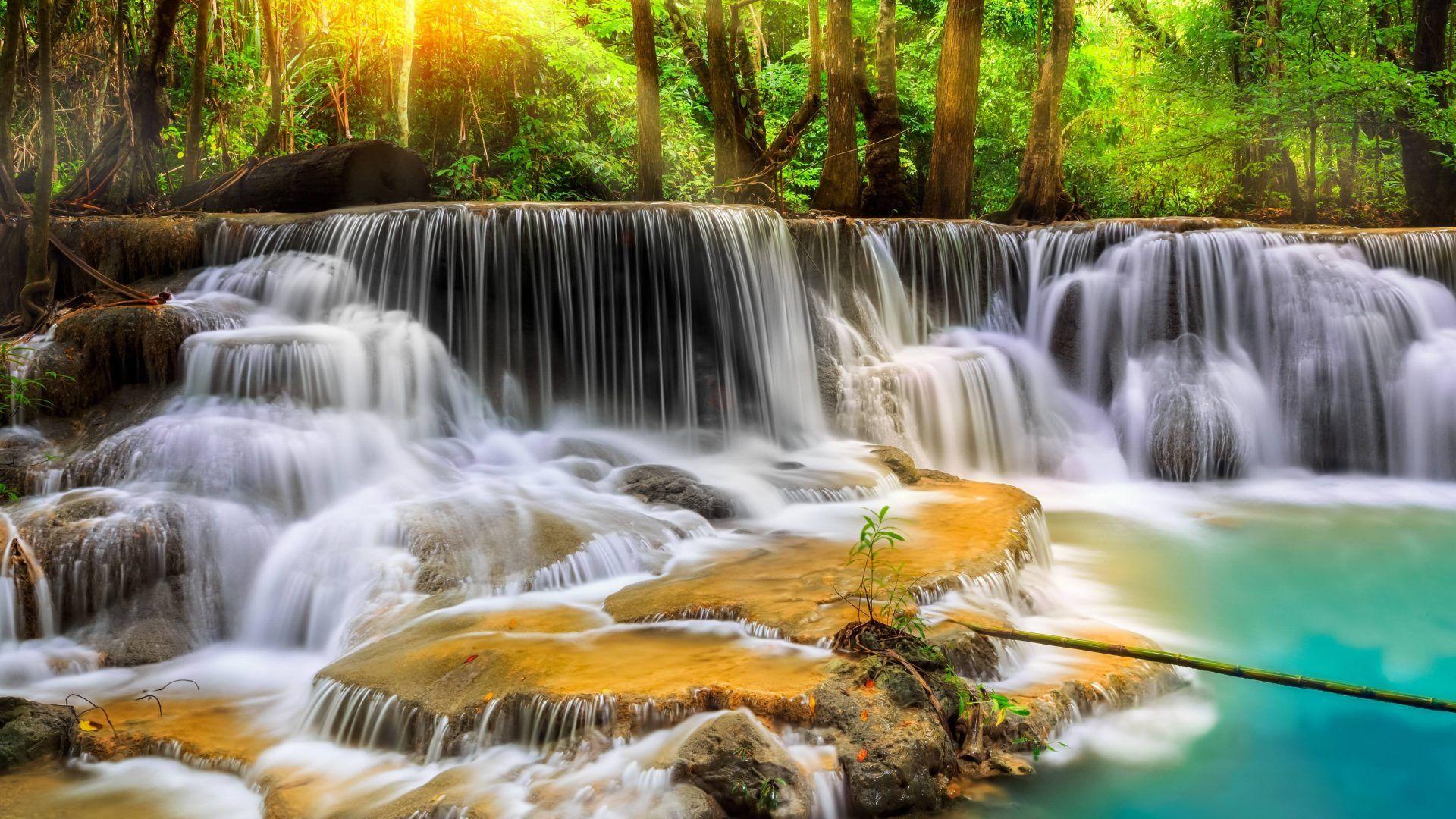 Nature Waterfalls Waterfall