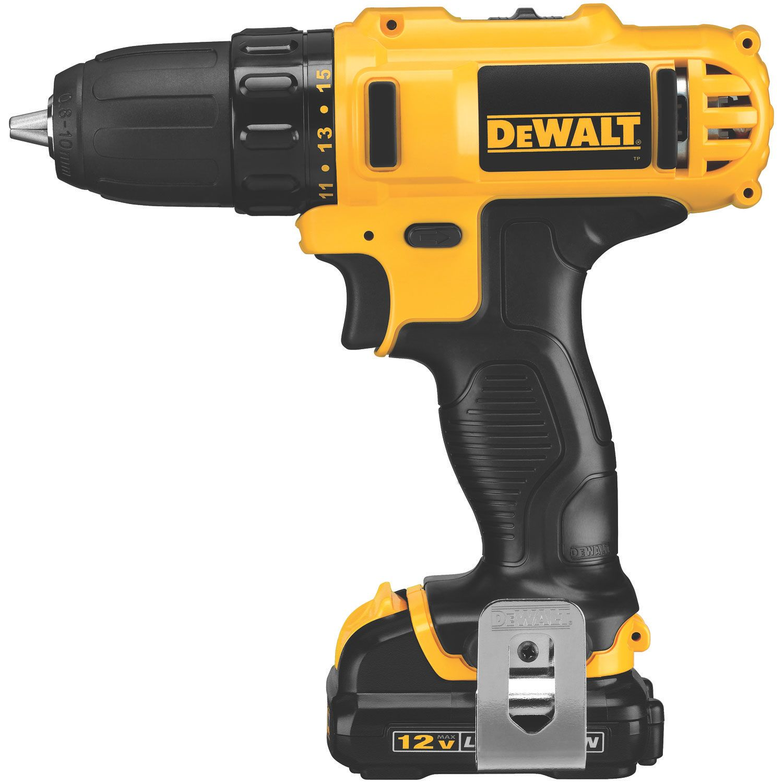 Dewalt 12 Volt Max Lithium Ion 3 8 Drill Driver Dewalt Drill Cordless Power Tools Dewalt