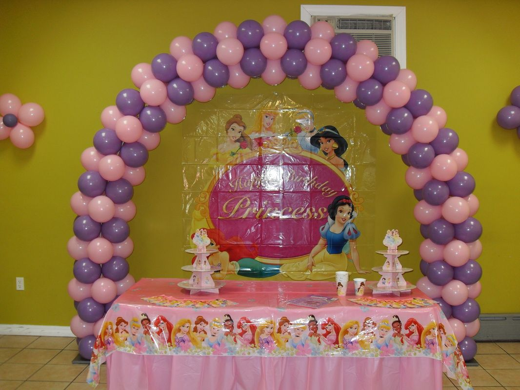 themed princess party decor | ... is a spring lilac and light pink ...