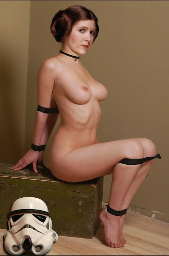 nude princess lea