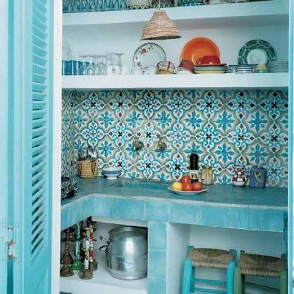 Quelle Type De Carrelage Marocain De Choisir Archzine Fr Carrelage Marocain Deco Marocaine Cuisine Exterieur