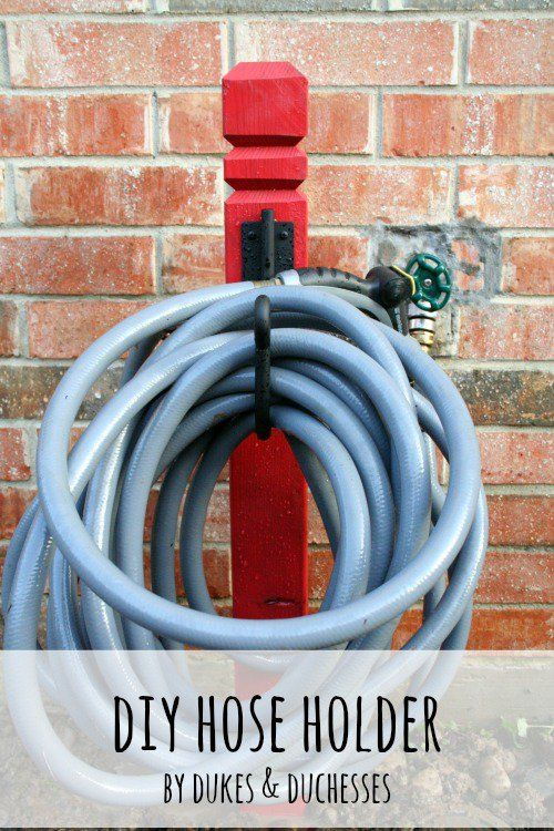 Diy Hose Holder Dukes And Duchesses Hose Holder