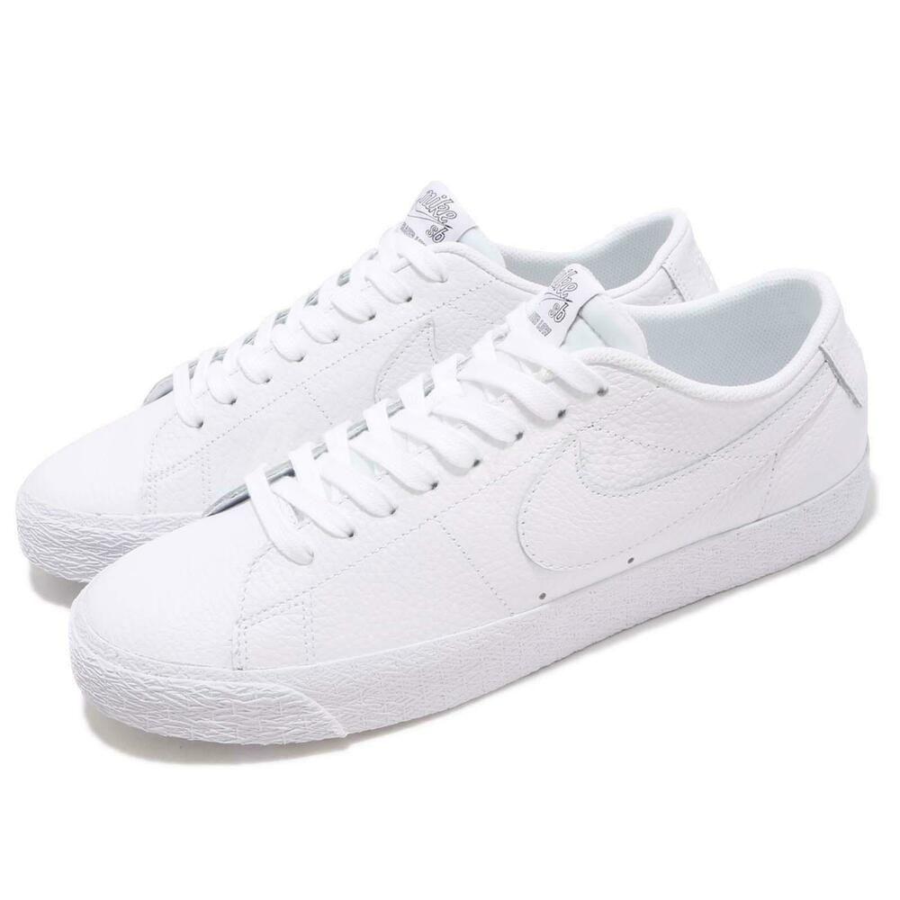 8beca3361850 Advertisement(eBay) Nike SB Zoom Blazer Low NBA White Men Skate Boarding  Shoes Sneakers