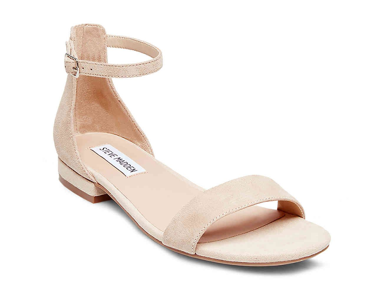 dcb1cb2f740a9   I have a nude sandal like this and wear it ALL the time! Might be worth  considering.   Steve Madden Lamp Flat Sandal