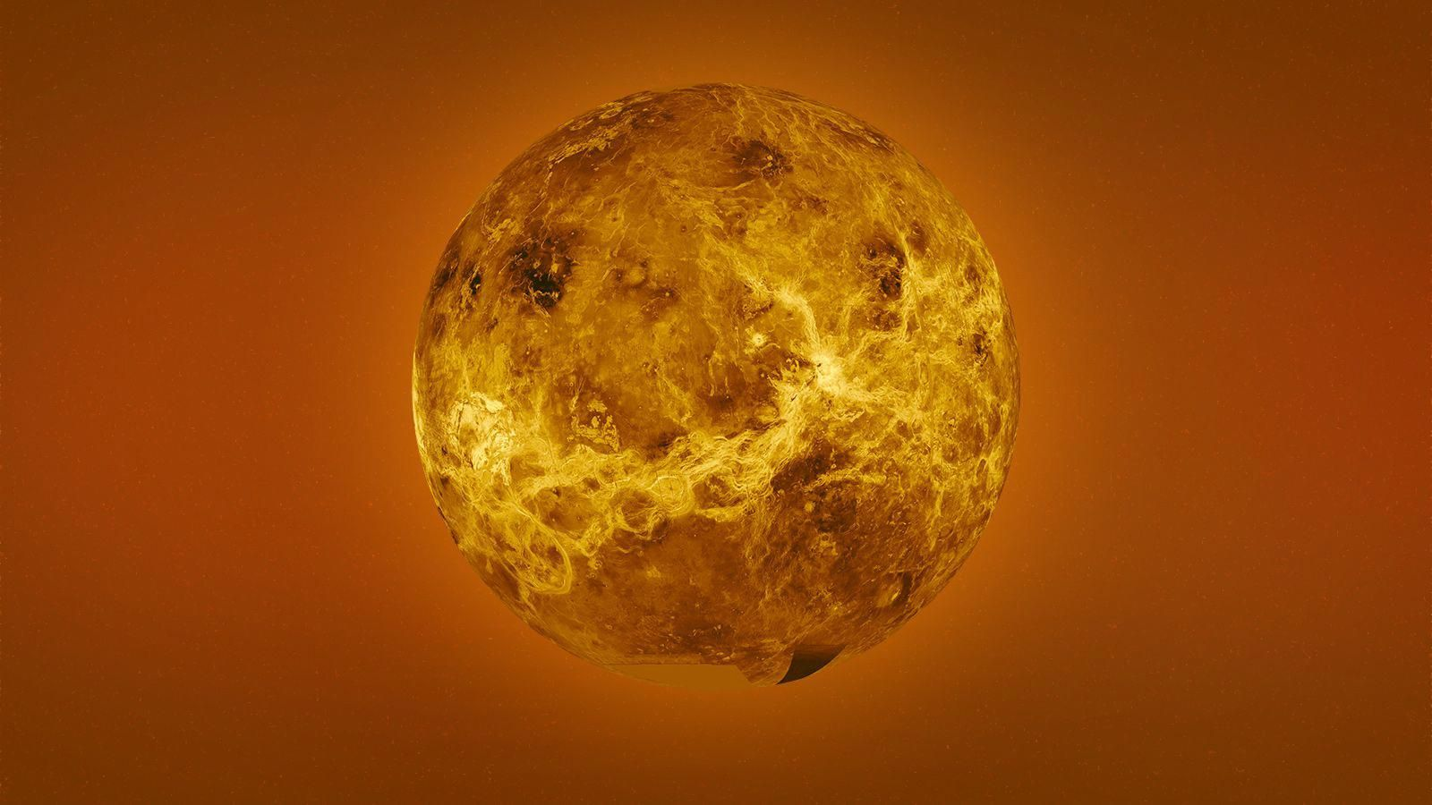 Venus Is The Second Planet From The Sun And Our Closest