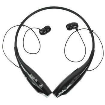 2014 Black New Wireless Bluetooth Sport Stereo Earphone Neckband Hv 800 In Ear Headset For Iphon Cell Phone Antenna Booster Wireless Headset Cell Phone Headset