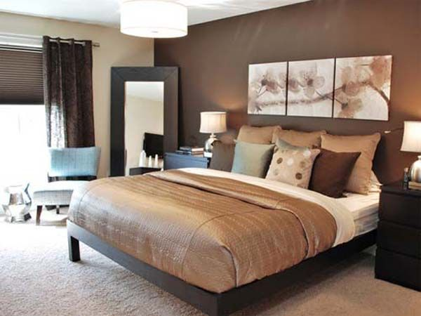 Image Detail For Bedroom Decorating Ideas Blue And Brown